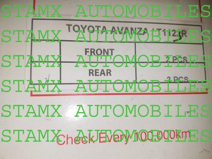 harga Per keong ukuran standard merk apm toyota new avanza/xenia 2012+ blkg Tokopedia.com