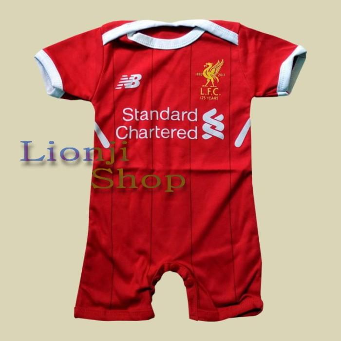2eceda9b9 Jumper Bodysuit Bola Bayi Liverpool Home - discount price cheap sale ...