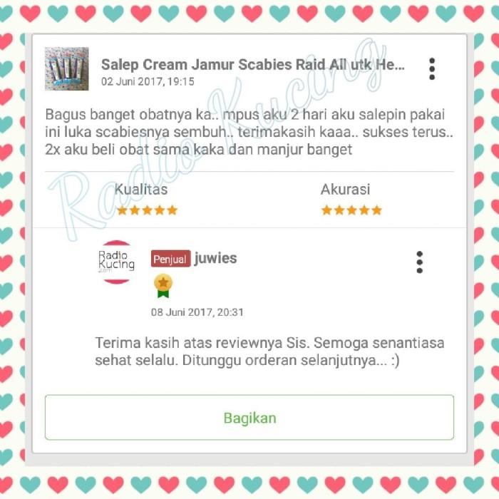 Jual Salep Cream Jamur Scabies Raid All Utk Hewan Kucing
