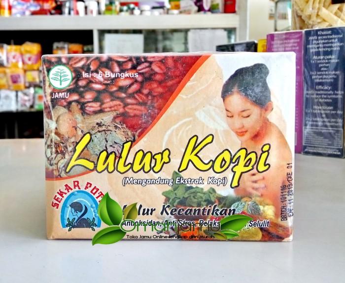 Lulur kecantikan ekstrak kopi. perawatan kulit