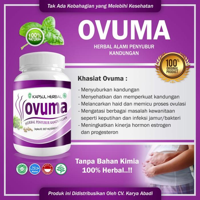 ovuma - obat Herbal penyubur kandungan,herbal kesuburan 100% alami