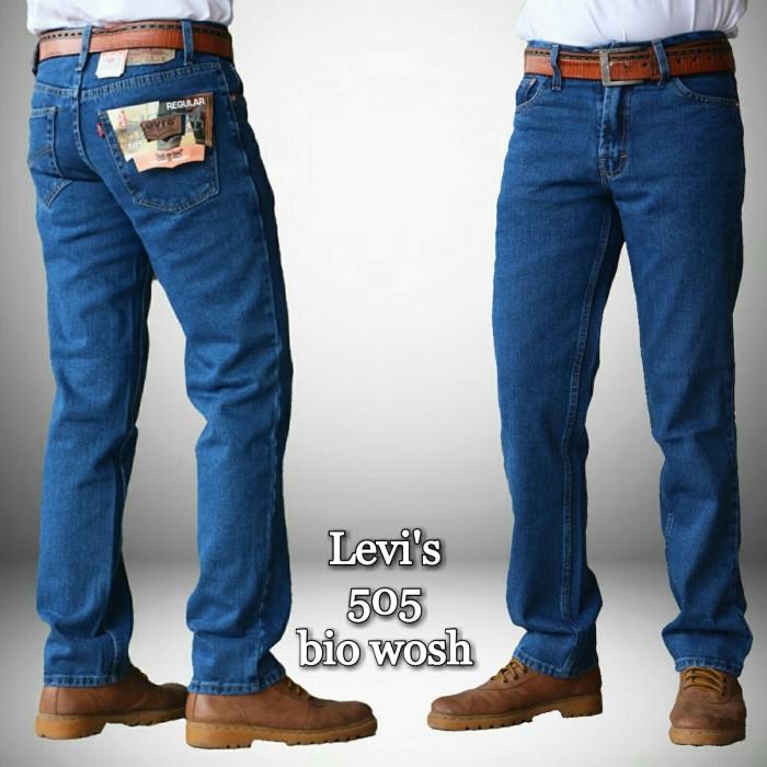 harga Celana jeans levis 505 bio wash original Tokopedia.com