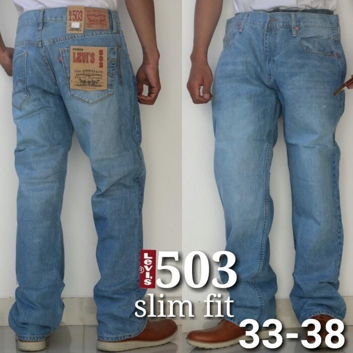harga Celana jeans levis 503 import slim fit bio blitz original Tokopedia.com