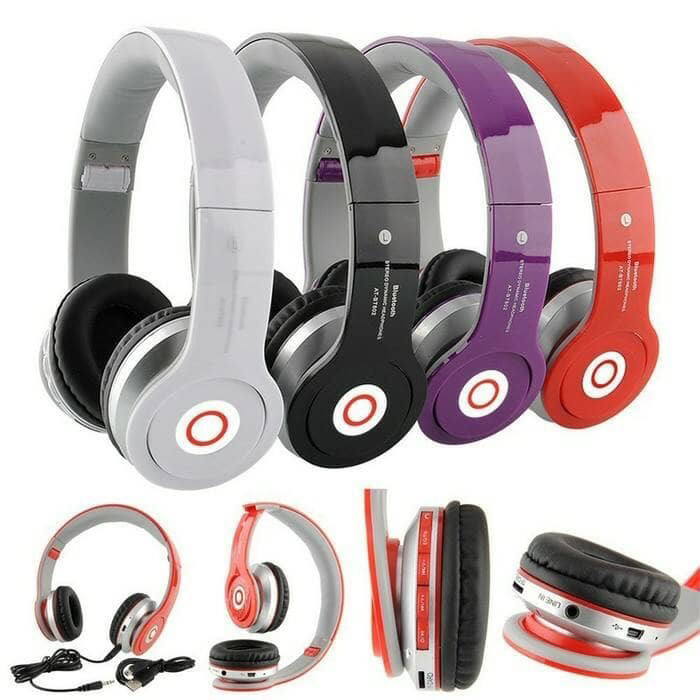harga Headphone/headset bluetooth + slot sd card/tf card dr.dree Tokopedia.com