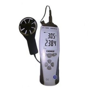 Foto Produk thermo anemometer dekko Ft7955 alat ukur kecepatan angin FT-7955 dari virlie  engineering co