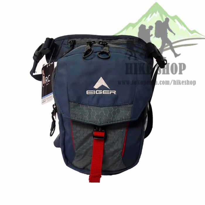 Tas Selempang Paha Eiger 7404 Edge Legpack Blue