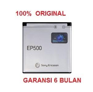 harga 100% original sony ericsson battery ep500 / u5i vivaz, xperia x8 Tokopedia.com