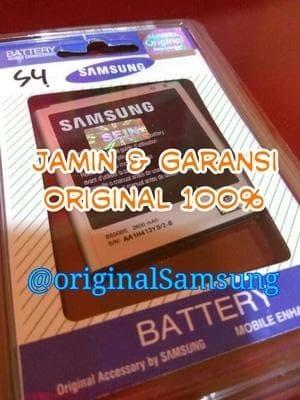 harga Battre battery samsung galaxy s4 - i9505 i9502 i9508 original 100% Tokopedia.com