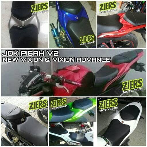 harga Jok pisah v2 new vixion & new vixion advance Tokopedia.com