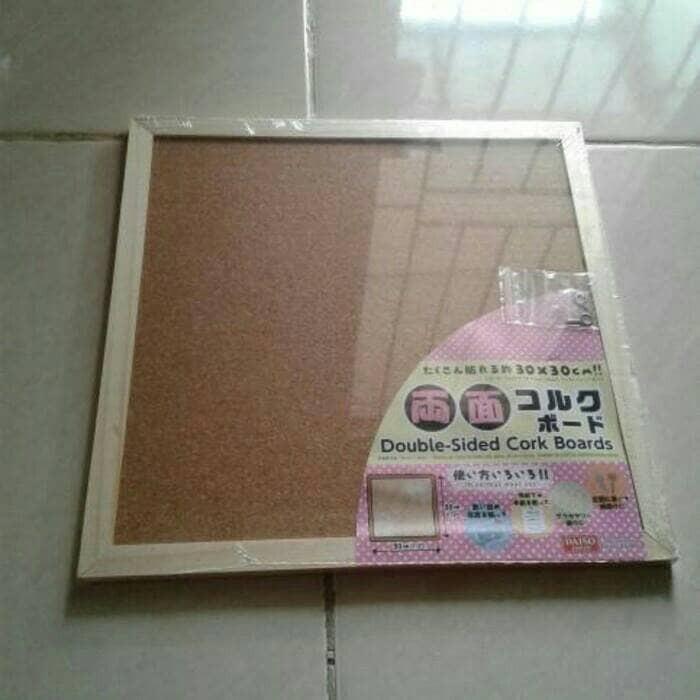 harga Papan pengumunan, papan 2sisi, papan memo 30x30cm Tokopedia.com