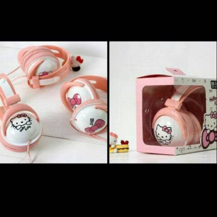 harga Headphone bando karakter headset bando doraemon hello kitty jumbo Tokopedia.com