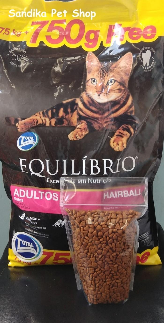 harga Makanan Kucing / Cat Food Equilibrio Adult Repack 500 Gram Tokopedia.com
