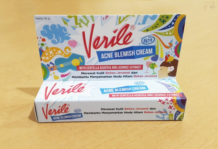 Jual Blemish Verile Acne Cream / merawat menyamarkan noda ...