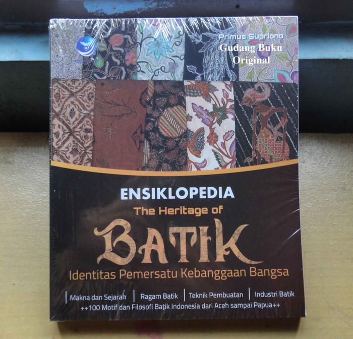 harga Ensiklopedia the heritage of batik Tokopedia.com