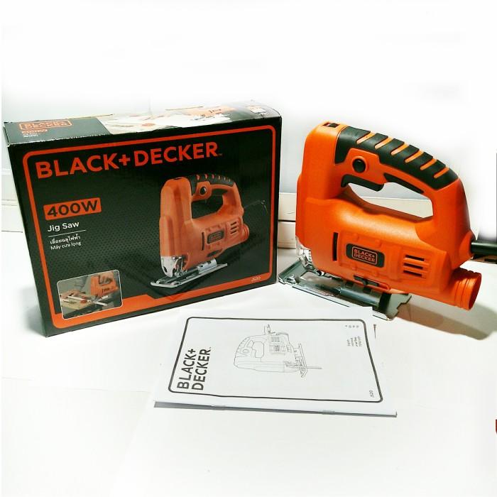 harga Black & decker power jig saw js20 variable speed - mesin gergaji kayu Tokopedia.com