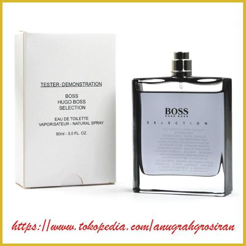 Jual Parfum Ori Hugo Boss Selection Man Edt 90ml Tester