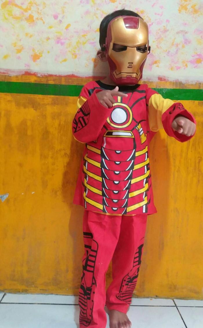 Jual Baju Setelan Iron Man Jakarta Barat ZAMI OL Shop