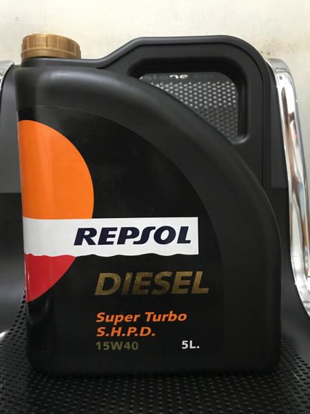 harga Oli mesin mobil repsol diesel super turbo shpd 15w40 galon Tokopedia.com