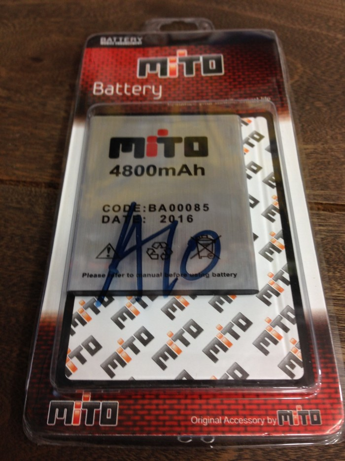 Baterai mito ba-00085 mito a10 impact android one 4800mah original