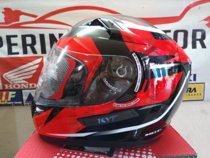 harga Helm kyt k2 rider red warior Tokopedia.com