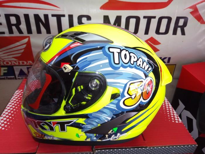 harga Helm kyt vendetta ii pembalap topan world class helmet Tokopedia.com