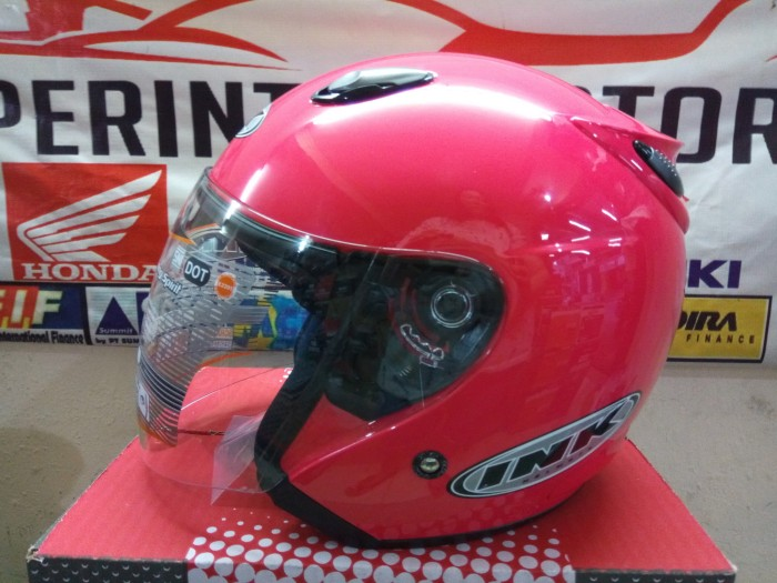 harga Helm ink centro jet solid magenta the winning spirit Tokopedia.com
