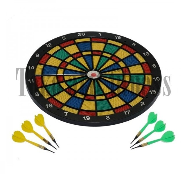Safe Shot Dart Game Papan Mainan Lempar Anak Panah Daftar Harga Source · Papan dart game