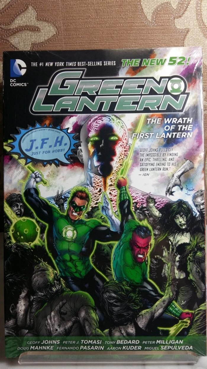harga Green lantern: wrath of the first lantern tpb (2014 the new 52) Tokopedia.com