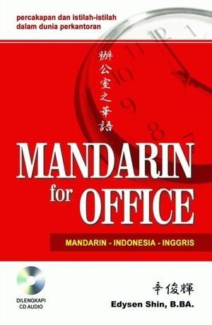 harga Baru buku  mandarin for office + cd audio . edysen shin. b. ba Tokopedia.com