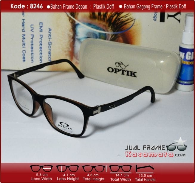 Jual Frame Kacamata +Photocromic Lensa Minus Pria Wanita Baca Korea ... 0ac4dc349a