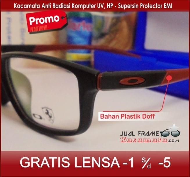 Jual Kacamata Frame + Lensa Minus Antiradiasi Pria Wanita Baca Korea ... d121cc76cf