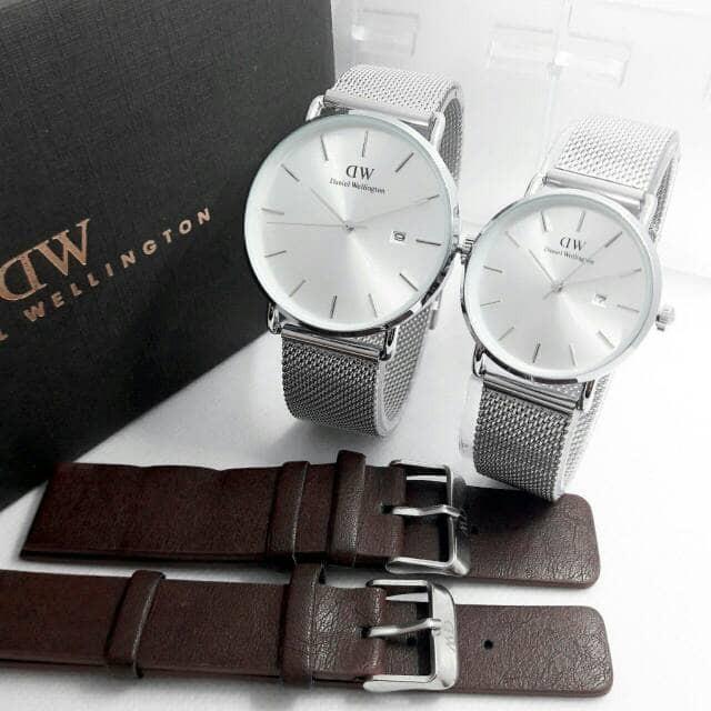 harga Jam tangan couple dw r1758 g Tokopedia.com