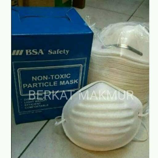 harga Masker safety n95 safety respirator mask n 95 bsa masker motor debu Tokopedia.com