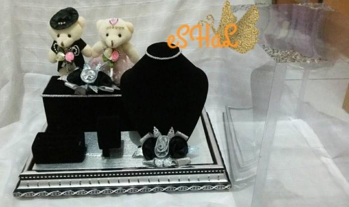 harga Kotak mahar siluet leher bear (khusus gojek) Tokopedia.com
