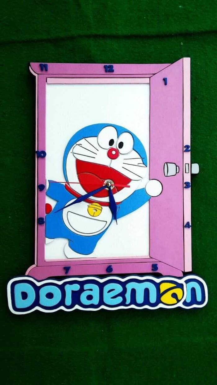 Jual Jam Dinding Custom Doraemon Kab Tangerang Jam Dinding Custom Keren