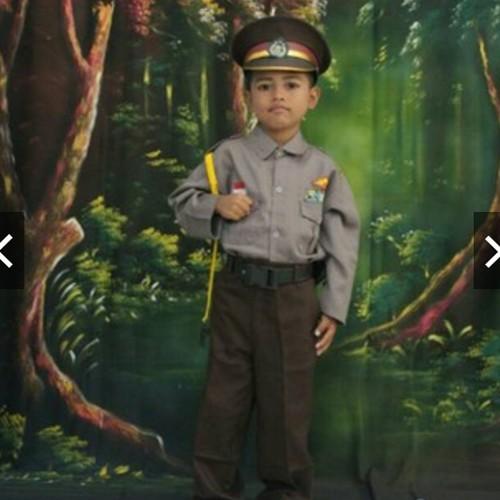 Baju Karnaval Profesi Anak Setelan Komplit TNI AD AL AU Polisi Lengkap