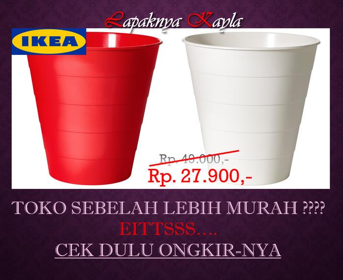 Ikea fniss | tempat sampah | merah & putih