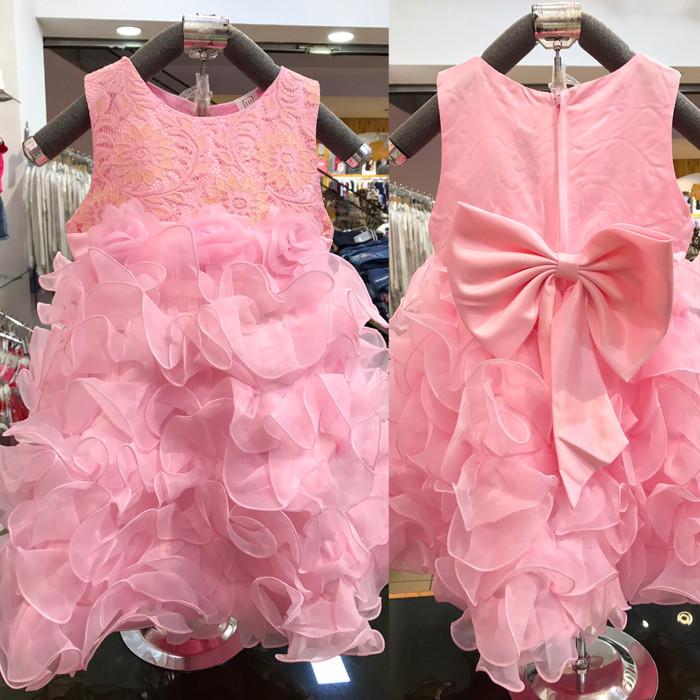 harga Dress anak merah - gaun anak - baju anak cewe - kostum elsa frozen Tokopedia.com