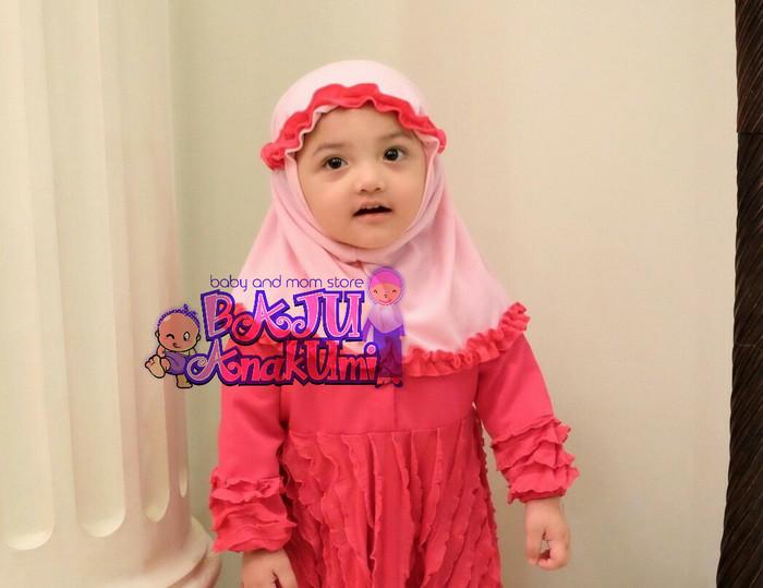 Jual kerudung bayi//jilbab bayi//kerudung anak//jilbab anak - Baju Anakumi   Tokopedia