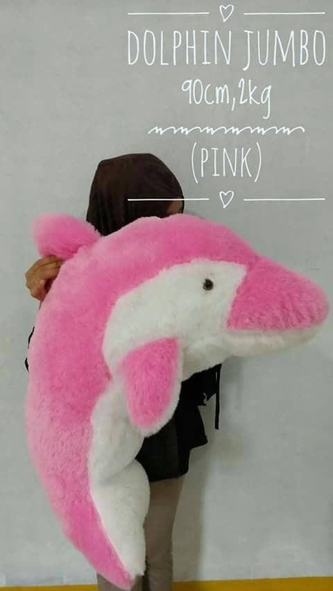 Jual boneka dolphin   lumba lumba jumbo 90cm - istana boneka jumbo ... 63f0ad5842
