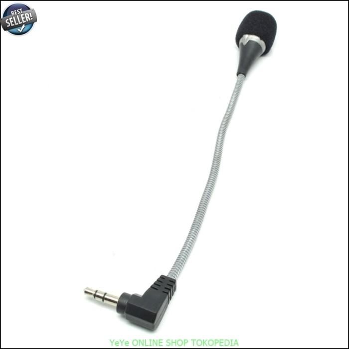 harga Mikrofon microphone mic hp laptop mini flexible 16cm - black y2914 Tokopedia.com