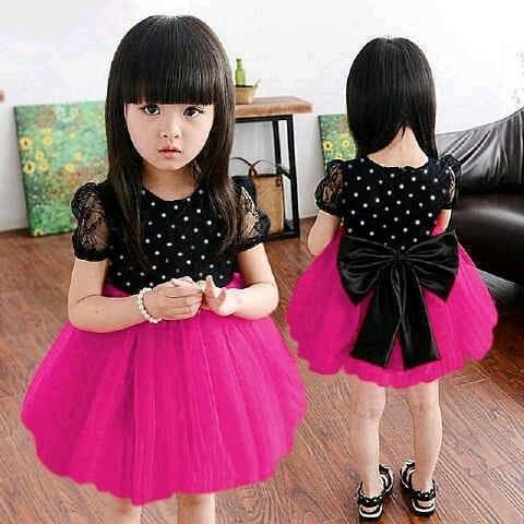harga Iv dress anak shan polka (pink - blue - red) / baju anak cewek Tokopedia.com