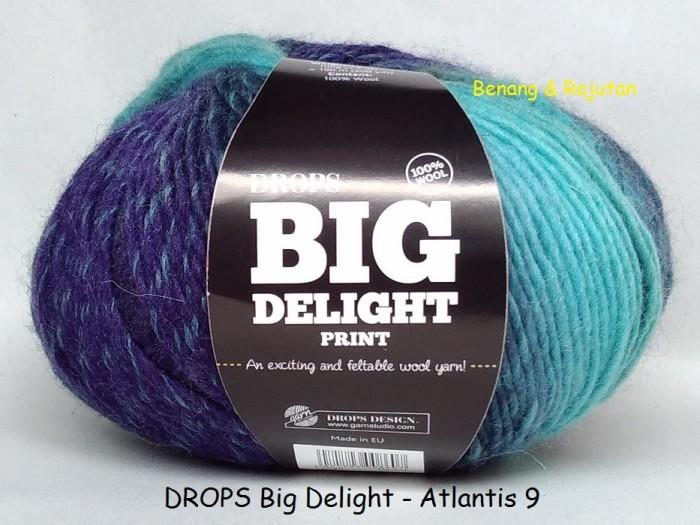 harga Drops big delight atlantis - benang rajut import wool yarn wol impor Tokopedia.com