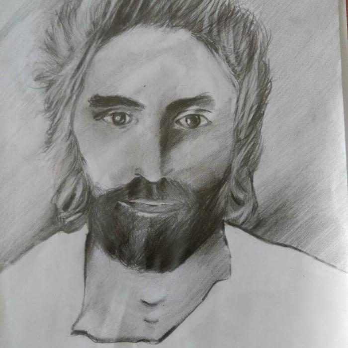 Jual Lukisan Tuhan Yesus Kota Medan Art Enthusiasm Tokopedia