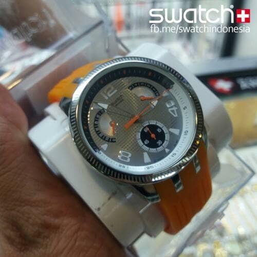 Rubber Hitam SUSB401 . Source · Swatch Irony Retrograde YRS405 Original Jam Tangan .