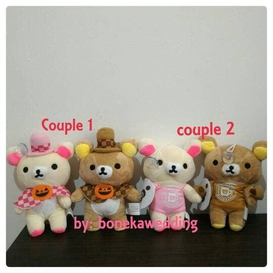 ... harga Boneka couple rilakkuma 18cm boneka pasangan rillakuma import  dolls Tokopedia.com 515e77109b