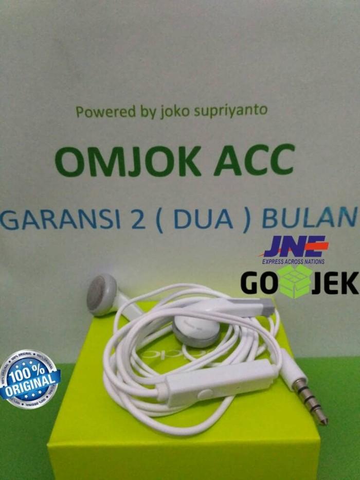 harga [original] headset oppo f1 r1 r7 miror joy find 5 a37 neo f1s handsfre Tokopedia.com