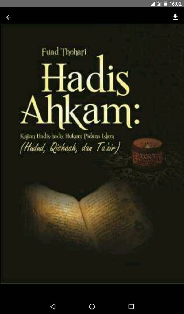 Hukum download pidana islam ebook