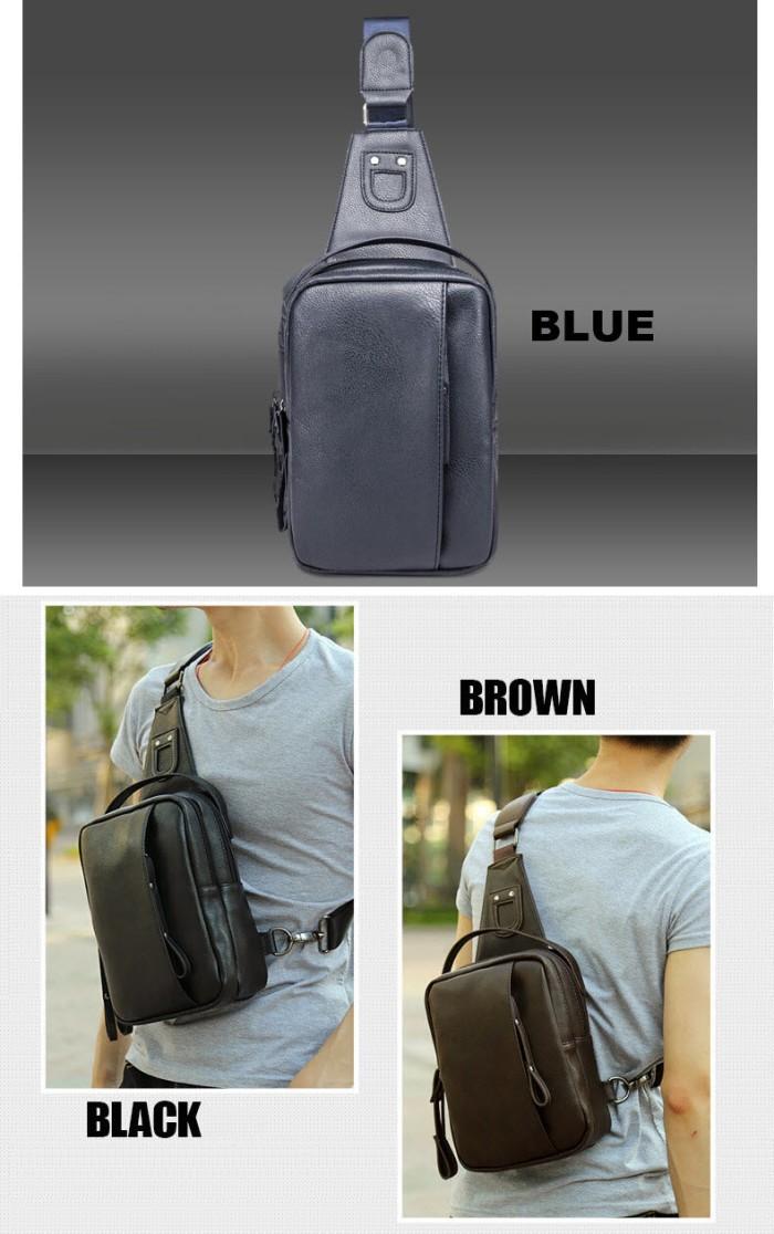 Auris Tas Fashion Selempang Wanita 254057 Coklat Daftar Harga Source · Sling Bag Leather Kulit Tas