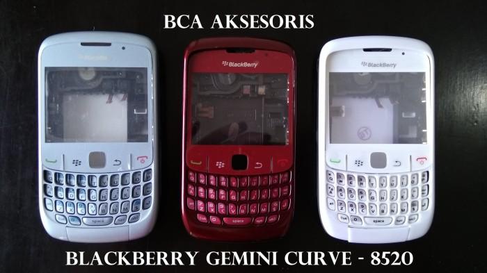 harga Casing bb / blackberry gemini / 8520 + kaca housing fullset original Tokopedia.com